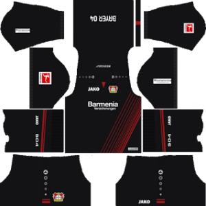 Bayer Leverkusen Kits 2017/2018 Dream League Soccer