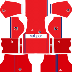 Chicago Fire Kits 2017/2018 Dream League Soccer