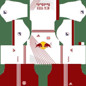 New York Red Bulls kits 2017/2018 Dream League Soccer