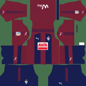 SD Eibar Kits 2017/2018 Dream League Soccer