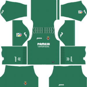 Villarreal CF Goalkeeper Home Kit