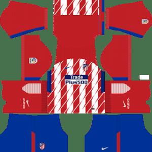 Atletico Madrid Kits 2017/2018 Dream League Soccer