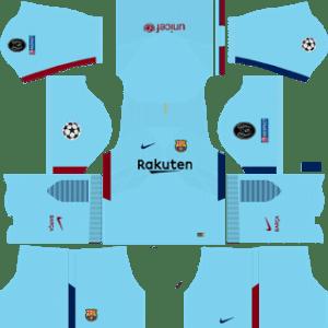 Barcelona UCL Away Kit