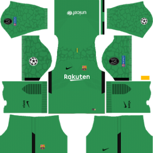 Barcelona UCL Goalkeeper Third Kit