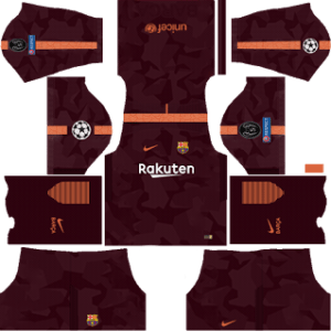 Barcelona UCL Third Kit