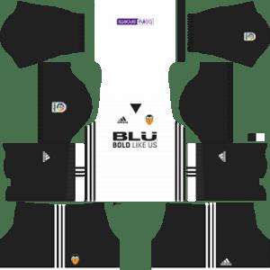 Valencia CF Kits 2017/2018 Dream League Soccer