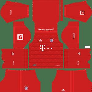 Download Kit Bayern Munich Fts 2020 - Jersey Terlengkap