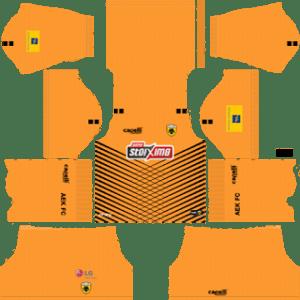 AEK FC Goalkeeper Home Kit