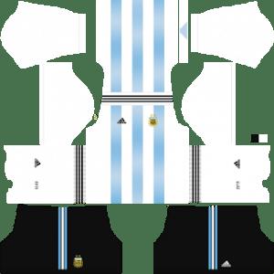 Argentina Kits 2018/2019 Dream League Soccer