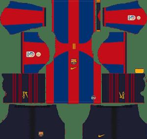 Barcelona vs Real Madrid El Clasico Kits 2019 – Dream League Soccer Kits