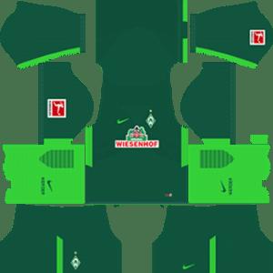 SV Werder Bremen Kits 2017/2018 Dream League Soccer