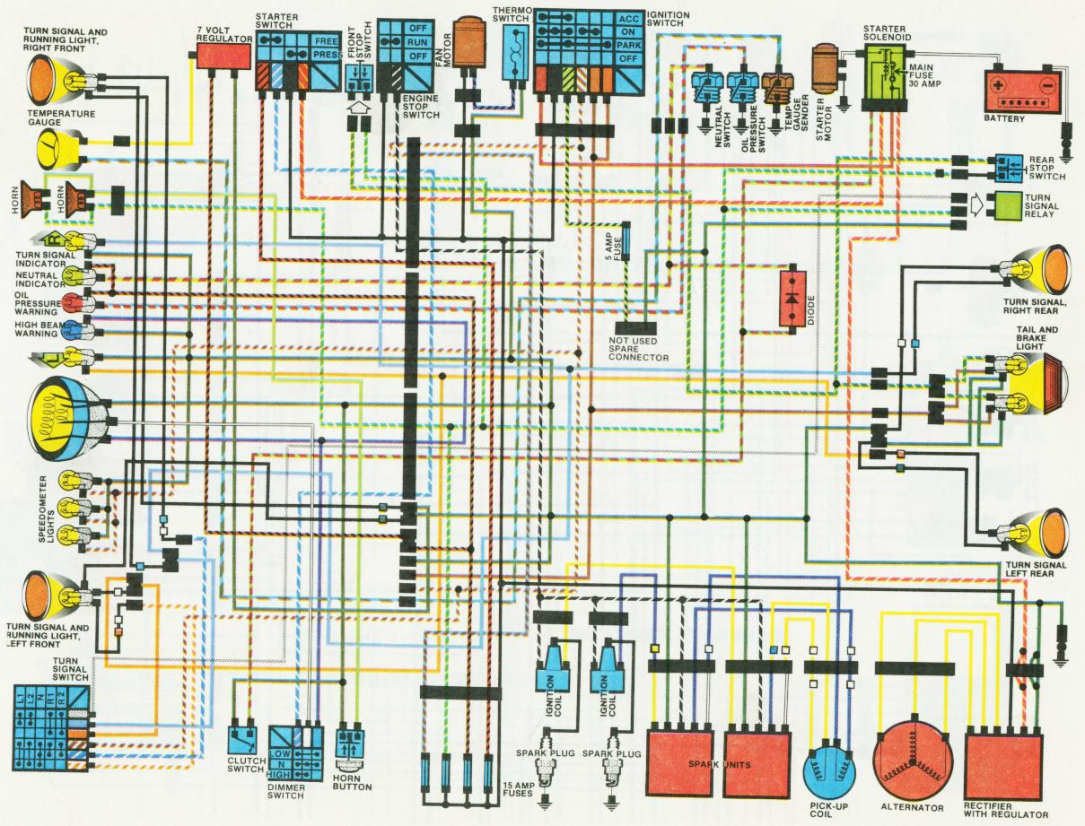 Fantastic Gl1100 Wiring Diagram Contemporary - Electrical Circuit ...