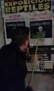 Pegada en Lugo Alcor 11 1 16
