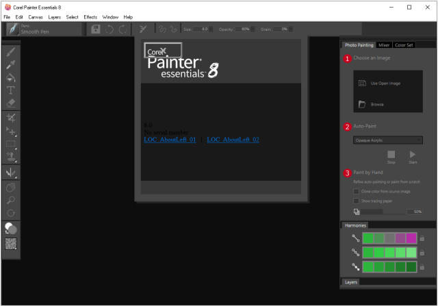 Corel Painter Essentials v8 (x64) Portable