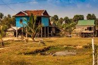 Cambodian Farm House