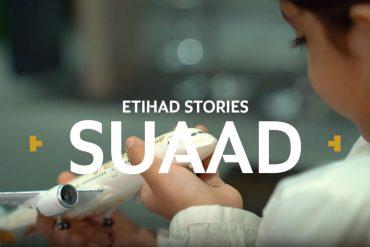 Suaad from Ethiad Airways
