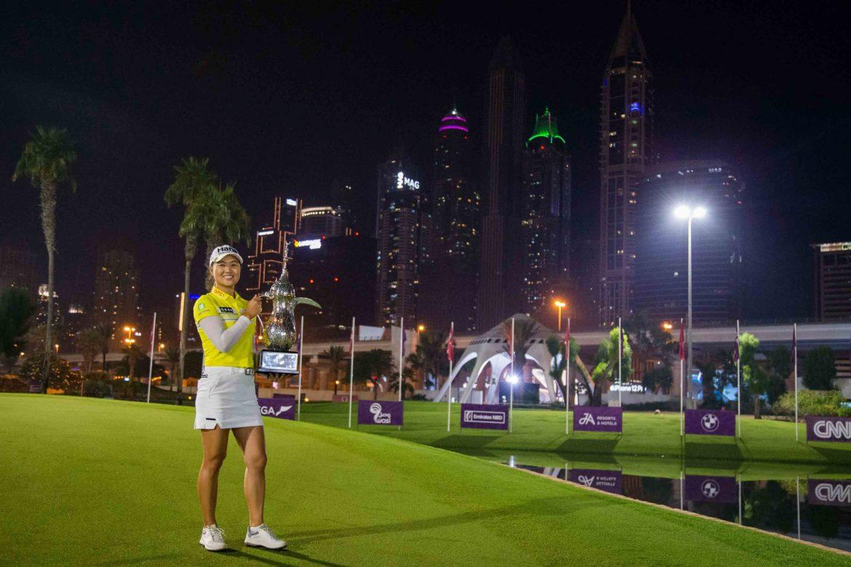 Minjee-Lee-Poses-Against-Dubai-Skyline