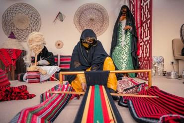 Sadu artisans at SHD.