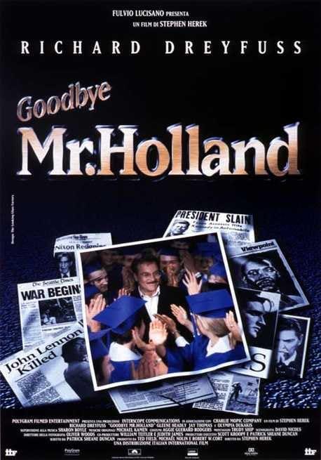 Risultati immagini per goodbye mr. holland
