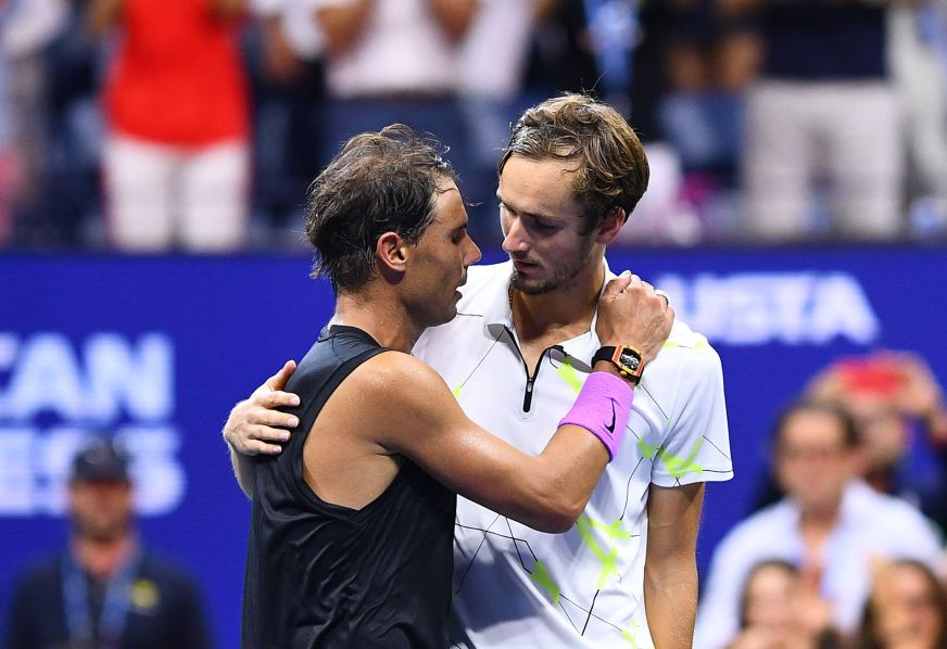US Open: Daniil Medvedev's classy speech after losing to ...