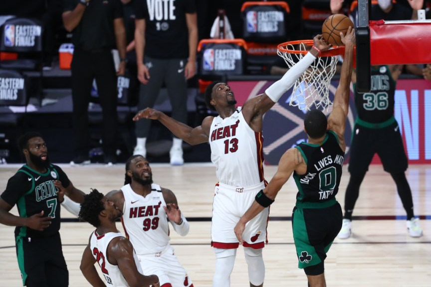 Celtics Vs Heat Nba Fans Were In Awe Of Bam Adebayo S