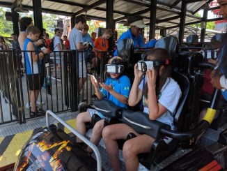 How does the Dare Devil Dive virtual Roller Coaster stack up? We'll tell you.