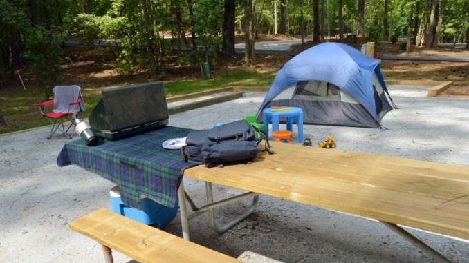 Camping at Hard Labor Creek State Park