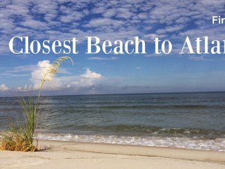 Find the closest beach to Atlanta, and a few other favorites.