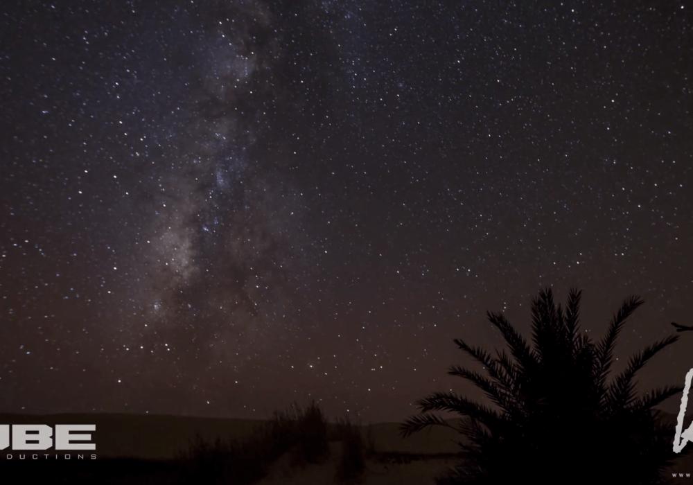 Egypt Night Sky Timelapse