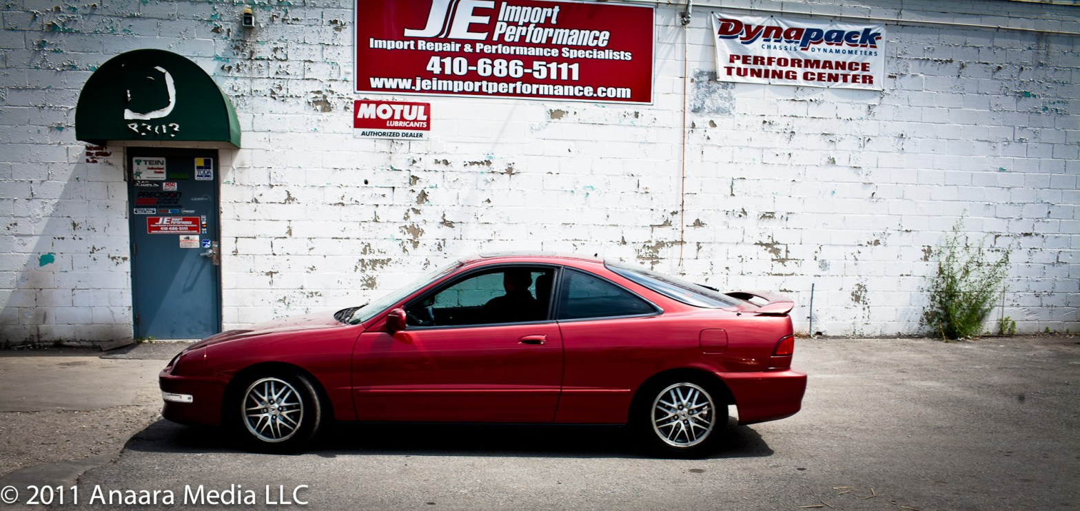 JE Import Performance bringing my teg back after a test drive. Lowered stance, stiffened suspension, sweet, low growl.