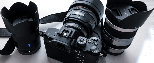 Sony A7RII with Canon 50mm 1.2L, Sony Zeiss 24mm 1.8 E, Sony 18-200mm F3.5-6.3