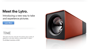 A quick review of the Lytro light field camera