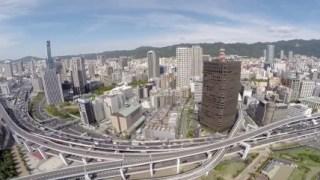 今日の動画 2014.09.18 神戸の絶景 高層ビル群 空撮 DJI PHantom2(ファントム2)+GoPro HERO3+