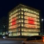 神戸「人と防災未来センター」震災20年 ライトアップ|SONY RX100m3でタイムラプスと動画