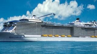 神戸港に世界最大級の豪華客船「QUANTUM OF THE SEA(クァンタム・オブ・ザ・シーズ)」が8月28日(金)入港