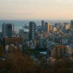 阪神・淡路大震災から21年目の神戸。ビーナスブリッジから今の神戸を眺める。