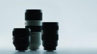 ソニーはEマウント「Gマスターレンズ」を3本発表!FE 24-70mm F2.8 GM・FE 85mm F1.4 GM・FE 70-200mm F2.8 GM OSS