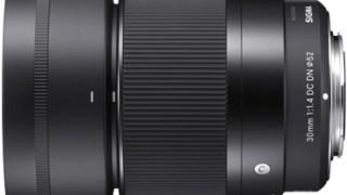 シグマは、ミラーレス用の大口径F1.4の「SIGMA 30mm F1.4 DC DN | Contemporary」を発表。
