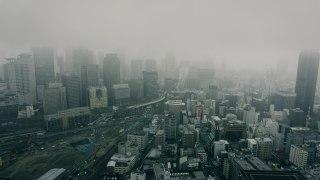 【霧の日に写真を撮る】2017年4月8日 大阪市内は「霧」に包まれた