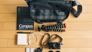 ストリートのカメラバッグに最適な「マンハッタン ポーテージ ブラックレーベル」のメッセンジャーバッグ