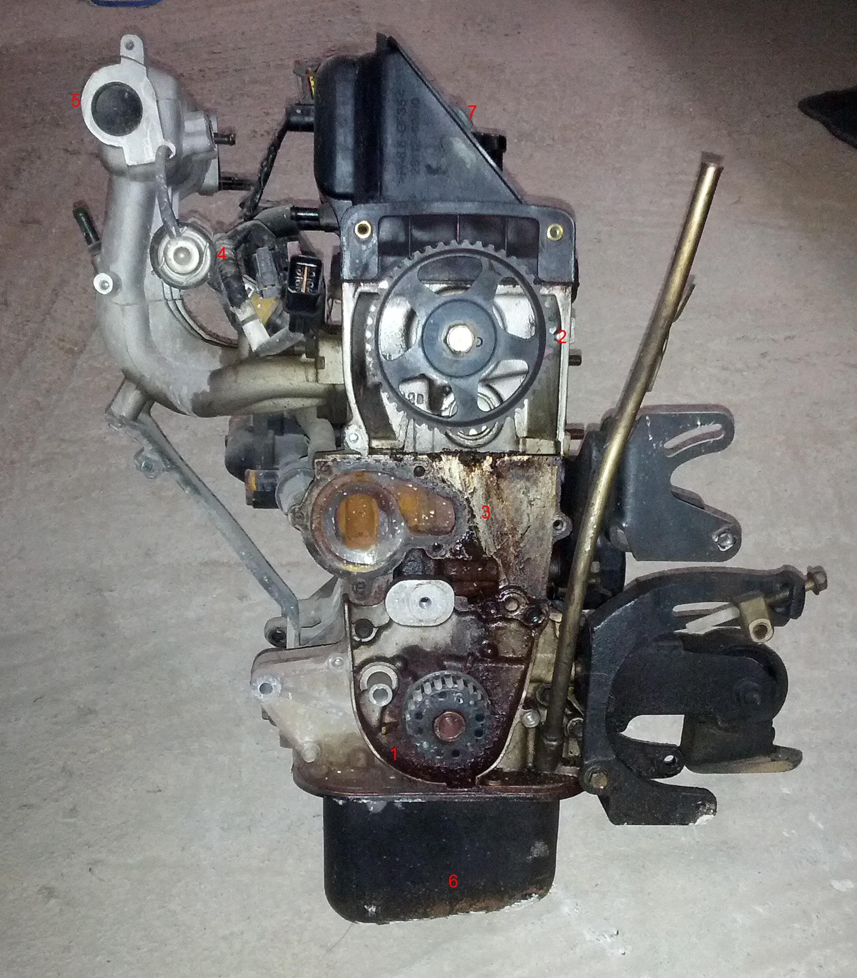 hight resolution of hyundai atos engine teardown part 1 fubar gr hyundai atos engine diagram engine left side