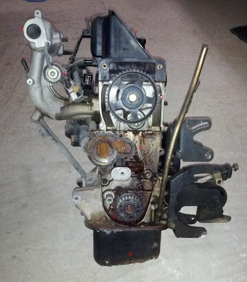 small resolution of hyundai atos engine teardown part 1 fubar gr hyundai atos engine diagram engine left side