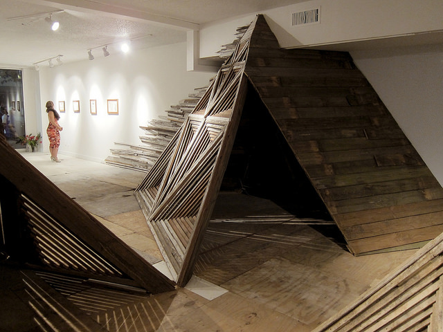 Architectural Installations Made With Reclaimed Materials