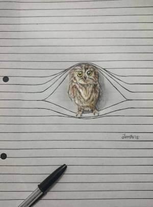 pencil drawings animal animals creatures fubiz lines