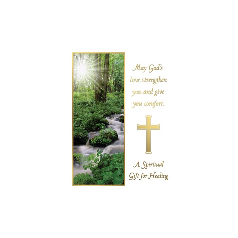 A Spiritual Gift For Healing Mass Card Catholic Mass Cards