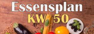 Essensplan – KW 50 – 2020