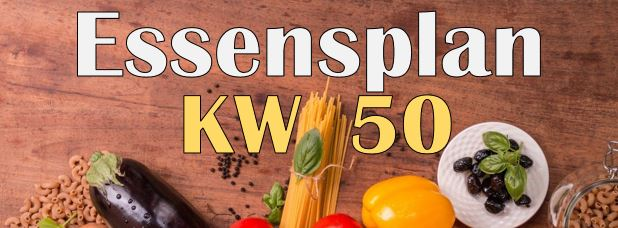 You are currently viewing Essensplan – KW 50 – 2020