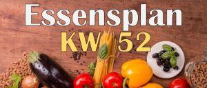 Essensplan – KW 52 – 2020