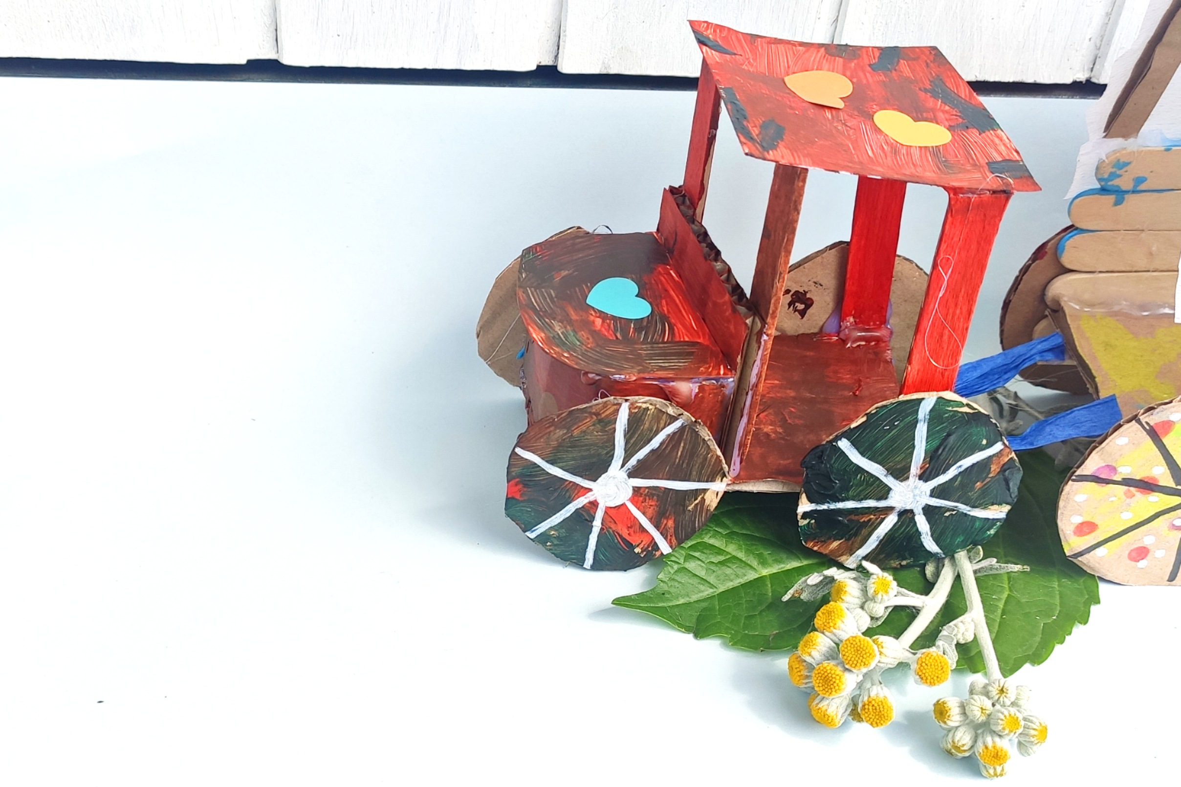 You are currently viewing DIY – Traktor ganz leicht selbst gebaut