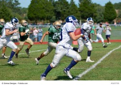 Knee Injuries During Football Season